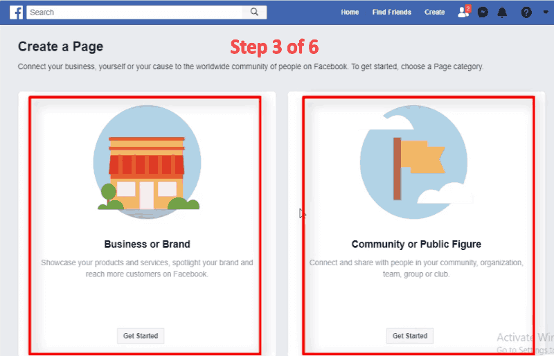 Business Brand or Community or Public Figure