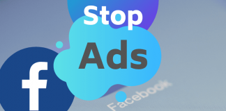 Stop ads on facebook