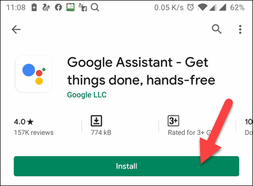 Download and Install Google Assistant