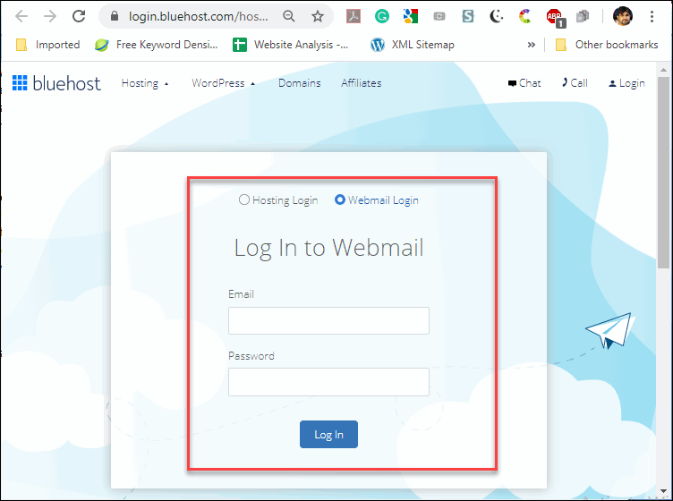 Bluehost Webmail Login Sign In – How to Sign In Your Bluehost webmail-