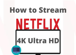 Stream Netflix 4K ultra HD