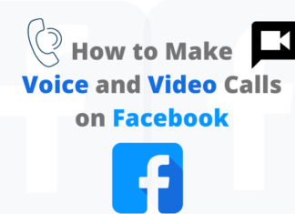 Facebook Voice and Video calls