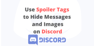 Discord message and image spoiler tags