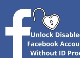 Unlock Disabled Facebook Account Without ID Proof