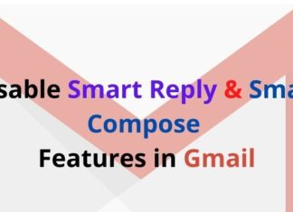 Disable Smart Reply and Smart Compose Features in Gmail
