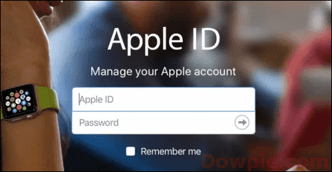 Open Your Apple ID with a Web Browser