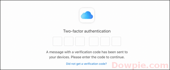 Set Up Two-Factor Authentication.