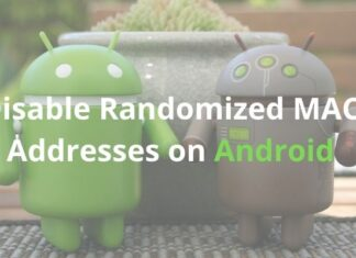 How to disable Private or Randomized Mac Addresses on Android