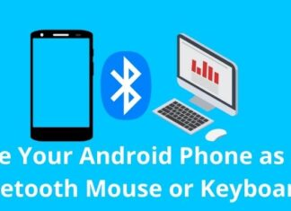 Use Your Android Phone as a Bluetooth Mouse or Keyboard