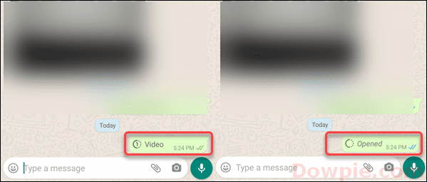 Video Send after View change to Opened