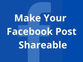 How to Make Your Facebook Post Shareable